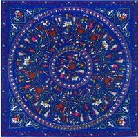 [LESIDA] Frauen-Winter-Schal-Schal-Frühlings-Herbst-weibliche Silk Schals große Seide 130 * 130cm Circling kleiner Charakterentwurfsschurz