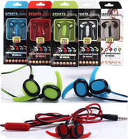 Sports Headphones horn Shape SF- 012 In- Ear 3. 5mm Earphone Ne...