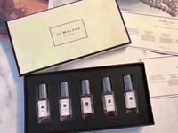 조 말론 런던 향수 5PCS 설정 크리스마스 한정판 브랜드 남성 향수 향수 퍼퓸 향수는 5 냄새를 9㎖의