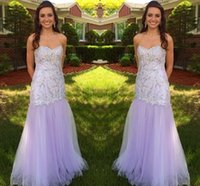 Newest Design Light Purple Prom Dress Special Occasion Dress...