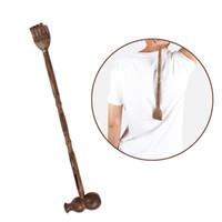 Traditionell Back Scratcher Trä Dual Ends Body Avkoppling Massager Hammer För Klåda Relief Strongsturdy Natural Craft Collection Gift