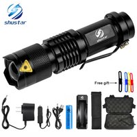 Shustar Mini Zoom XML- T6 L2 Flashlight Led Torch 5 mode 8000...