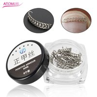 12 pcs  Set Orthodontic Nail Groove Nail Implant Correction ...