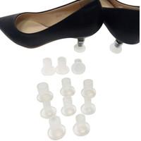 9 Protezioni per tacchi di diverse dimensioni Antiscivolo Tacco alto per scarpe con tacco alto e tallone