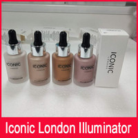 In stock Iconic London Illuminator Liquid Highlighter In Shine Originale Shine Glow Tre colori Face Make up Highlighter 4 Color