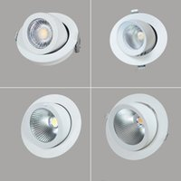 10W 20W 30W 40W LED Trunk Downlight COB Ceiling AC85- 265V Ad...