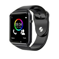 A1 Bluetooth Smartwatch Sport Watch 9 colori da polso con fotocamera per Android Phone Supporto Whatsapp Facebook SIM TF Card