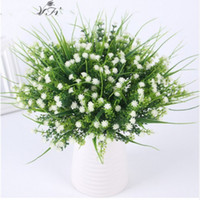 Vivid P. tenuiflora Green Grass plants artificial flower baby...