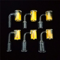 Wholesale Yellow Hot Changing Thermal Magic Quartz Bangers 1...