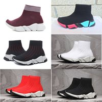 2018 New Paris Luxury Sock Shoe High quality Speed Running S...