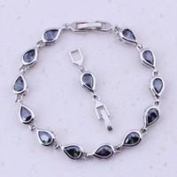 Terrific Rainbow Mystic Crystal Silver Color Fashion Water D...
