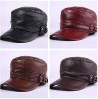 XdanqinX Осень Зима мужские шляпы сгущаться кожа теплые бейсболки плоская крышка регулируемый размер папа шляпа Snapback кости козырек шляпа