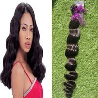 YUNTIAN tiefe Welle brasilianische reine Haareinschlagfaden 1 Bündel natürliche Farbe 100% Menschenhaar weben peruanischen europäischen malaysischen indischen Haar