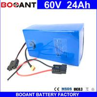 BOOANT 60 V 24AH Li-Ion Akku Elektrische Fahrradbatterie Für 1500 Watt Bafang Motor Mit 5A Ladegerät eBike Batterie 60 V EU US Free Duty