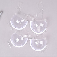 b7720cb861295 Wholesale shaper bra push for sale - Sexy Women Push Up transparent Bra  Plastic TPU Disposable