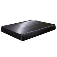 أسود اللون fied ورقة الساتان الحرير maress تغطية مجموعة الملك الحجم السلس لينة بارد ورقة السرير مع حبل مرن لفيلم الصيف