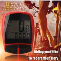 Multifonctionnel XC Shell Filaire Vélo Vélo Ordinateur De Compteur Odomètre Podomètre Rétroéclairage Conception Vélo Accessoires