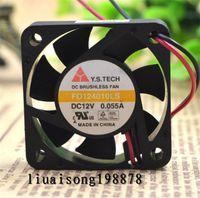 Y. S. TECH 40*10 мм 4 см FD124010LS 12 В 0.055 A 0.66 Вт корпус вентилятора бесшумный микро кулер для hdd переключатель