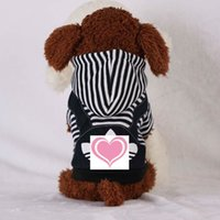 Two new rose red patterns and zebra pattern color pet hoodie...