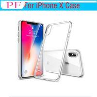 1 peça ultra fino para iphone 7 8 plus iphone 6 s plus case s8 s7 borda s6 borda plus crystal clear tpu silicone capa mole