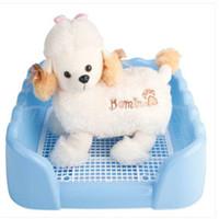 Wholesale !!!屋内プラスチックフェンス犬のトイレペットトイレサイズS犬の訓練従順な犬用品ペット用品