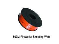 Fil de prise de vue en cuivre de 500m / rouleau de 0,45 mm pour le système de tir de feux d'artifice