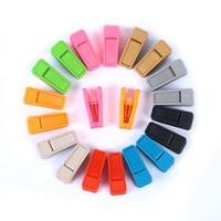 Resuable Tie Clip 유니버설 습식 및 건식 옷걸이 ABS 플라스틱 Clothespin 없음 흔적을 사용하기 쉬운