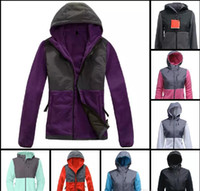 Winter Women Fleece Hoodies Jackets Camping Windproof Ski Wa...