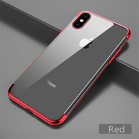 Shockproof Plating Electroplate Clear Case Cover For iPhone ...