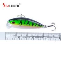 2017 Sealurer Marke Lebensechte Minnow Fischköder 7 CM 8,5G 6 # Haken Fisch Wobbler Tackle Crankbait Künstliche Japan Harten Köder Swimbait