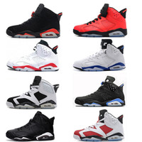 6 6s Infrared Carmine Basketball Shoes Men 6s UNC Toro Hare Oreo Maroon Chrome Sport Blue zapatillas