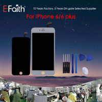 Wholesale- For iPhone 6(SC Quality) iPhone 6 Plus Black & Whi...