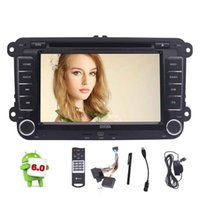 Android 6.0 Quad Core unidade central Do Carro estéreo de DVD do carro de navegação GPS Para VW Volkswagen Golf Sharan Jetta Skoda polo Passat caddy Octavia