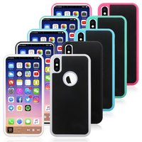 Anti Gravity Shockproof Case For iPhone X 8 7 Hybrid Antigra...