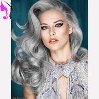 Pervado Hair Synthetic Lace Front Wigs for Women Soft High T...