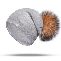 Autumn and winter men and women knit hat new hot silver knit...