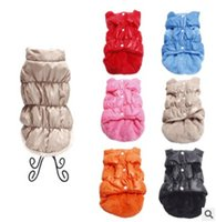 Pet Dog Cotton Coat Winter Warm Dog Apparel Padded Vest Fash...