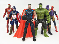 6 Style Avengers 3 Infinity War Figure toys 2018 New Thanos ...