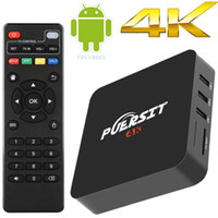 PUERSIT 4K Android 6. 0 TV Box 1080P Streaming Media Player S...