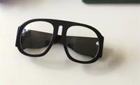 0152 S Güneş Gözlüğü Büyük Çerçeve Zarif Özel Gözlük Popüler Oval Çerçeve Dahili Dairesel Lens En Kaliteli Case Moda 0152