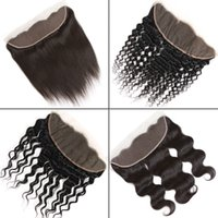 Brazilian Virgin Hair 13x4 Lace Frontal Closure From Ear to ...