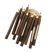 ヴィンテージ木製個別化ボールペン環境小枝木製ボールペンスクール事務用品卸売50個/ロット