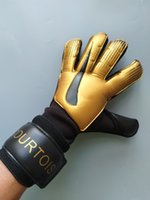 2019 Newest NK logo Courtois Golden Goalkeeper Gloves Goal K...