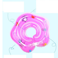 Новые аксессуары для плавания детские плавать шеи кольцо детские трубки кольцо безопасности младенческой шеи поплавок круг для купания плавать бассейн игрушки