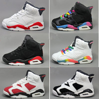 Cheap kids 6s Basketball Shoes Children' s Sneakers Shoe...