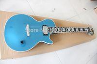 Los fabricantes de LP hacen la mejor guitarra eléctrica diapasón de ébano negro se puede personalizar según sea necesario EMS envío gratis367