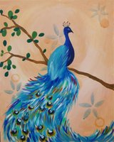 Mosaic home decoration animal peacock diy diamond painting c...