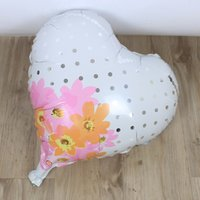 foreign trade hot selling balloon 18inch black heart flower ...