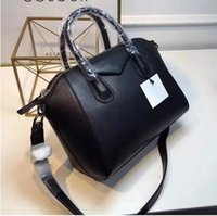 2018 women Genuine Leather bags handbags famous brand trapez...