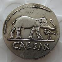 RM (01) DENARIUS D'ARGENT ROMAIN RARE DE JULIUS CAESAR Pièces de qualité Nice Vente au détail / entier Livraison gratuite